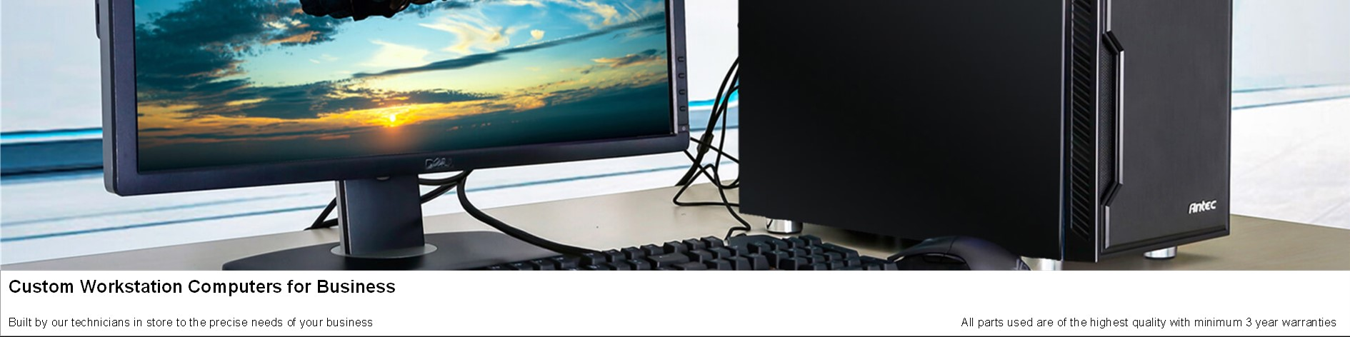 Custom Workstation Computers for Business